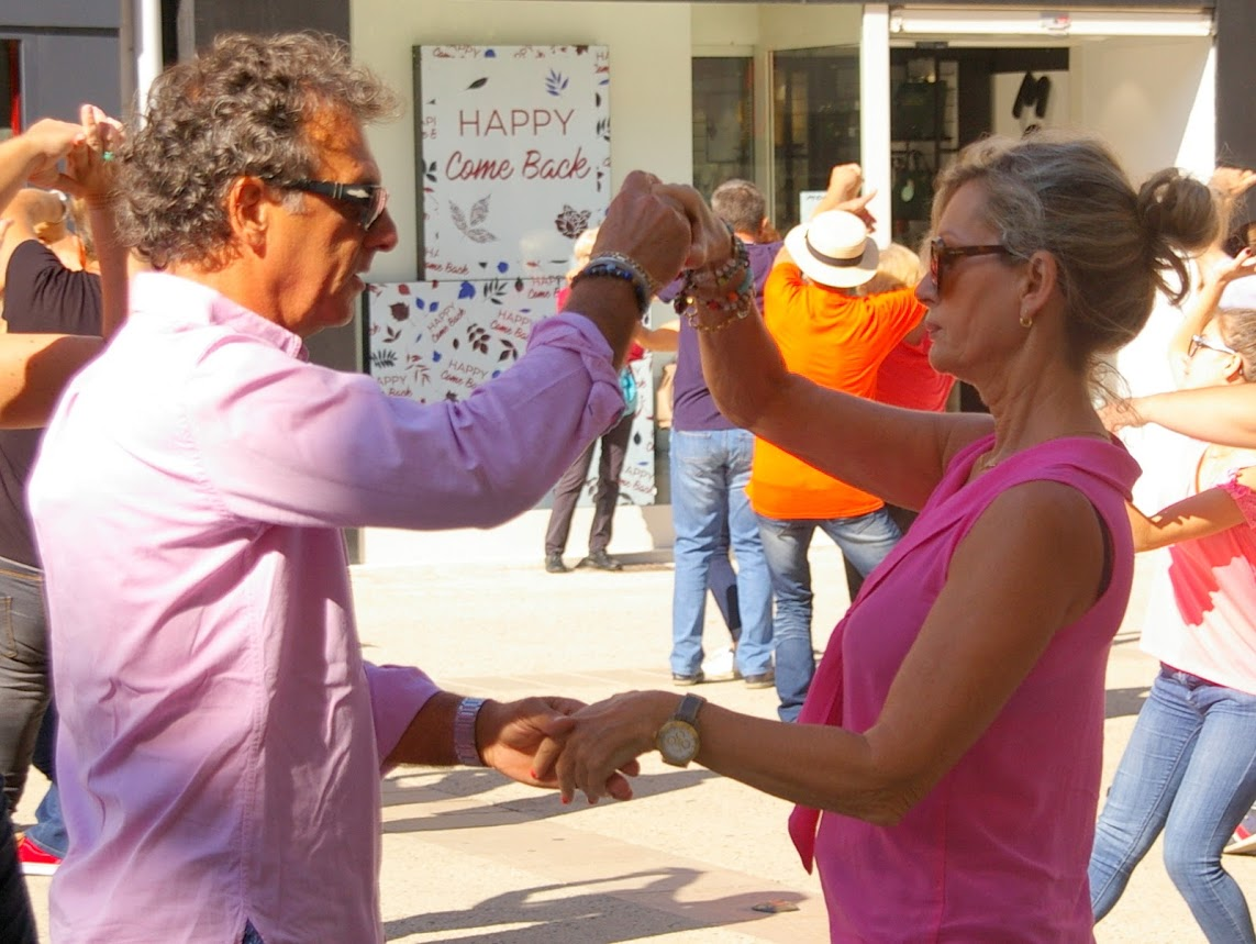 Flashmob 2017 West Coast Swing Niort et Poitiers